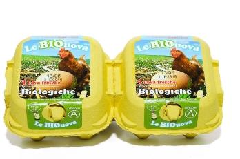 4 uova biologiche